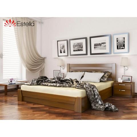 Дерев'яне ліжко СЕЛЕНА (Масив)