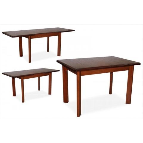 Обідній стіл з натурального дерева Тис-3