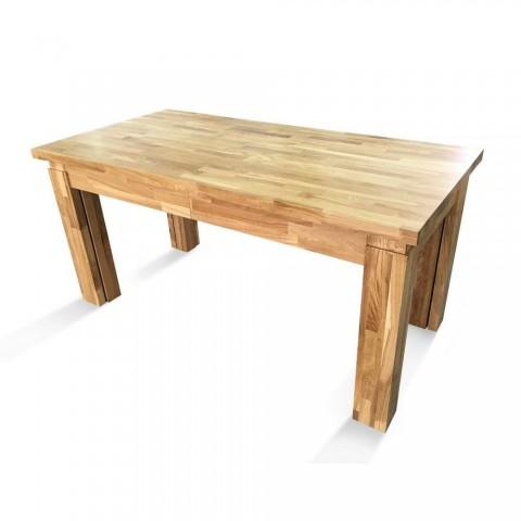 Дерев'яний розкладний стіл ЕЛЬБРІДЖ