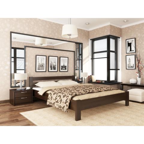 Дерев'яне ліжко РЕНАТА (Щит)