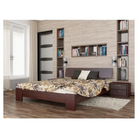 Дерев'яне ліжко ТИТАН (Щит)