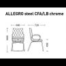 ALLEGRO steel CFA LB chrome