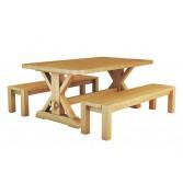 Дерев'яний стіл ЛАРГО