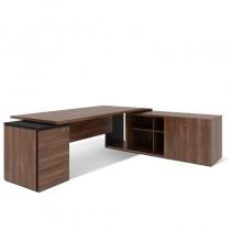 Стіл письмовий, приставний стіл та тумба, правий G1.11.22