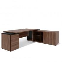 Стіл письмовий, приставний стіл та тумба, правий G1.11.20