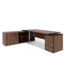 Стіл письмовий, приставний стіл та тумба, лівий G1.21.22